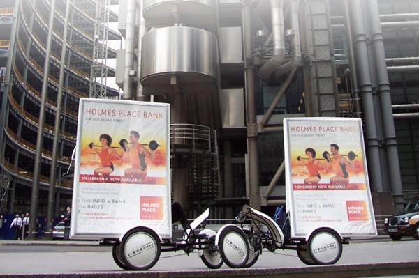 Bicicletas publicitarias
