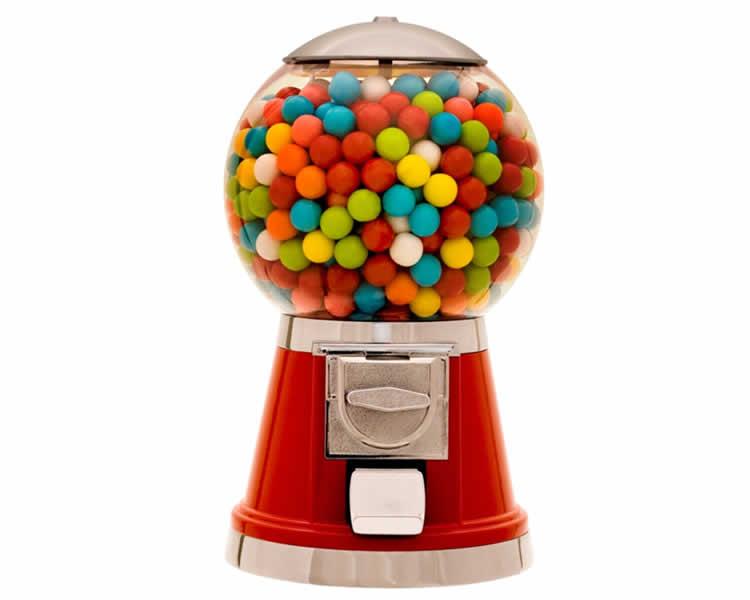 Emprende un negocio con expendedores de dulces