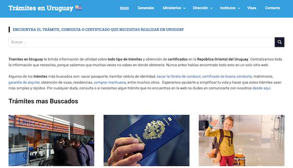tramites uruguay